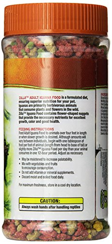 Pictures of Zilla Reptile Food Adult Iguana Fortified 6. 100111682 3