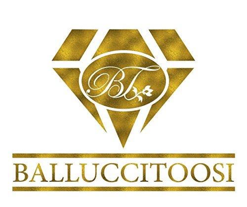 BallucciToosi Zodiac Libra Necklace-925 Sterling Silver-Horoscope