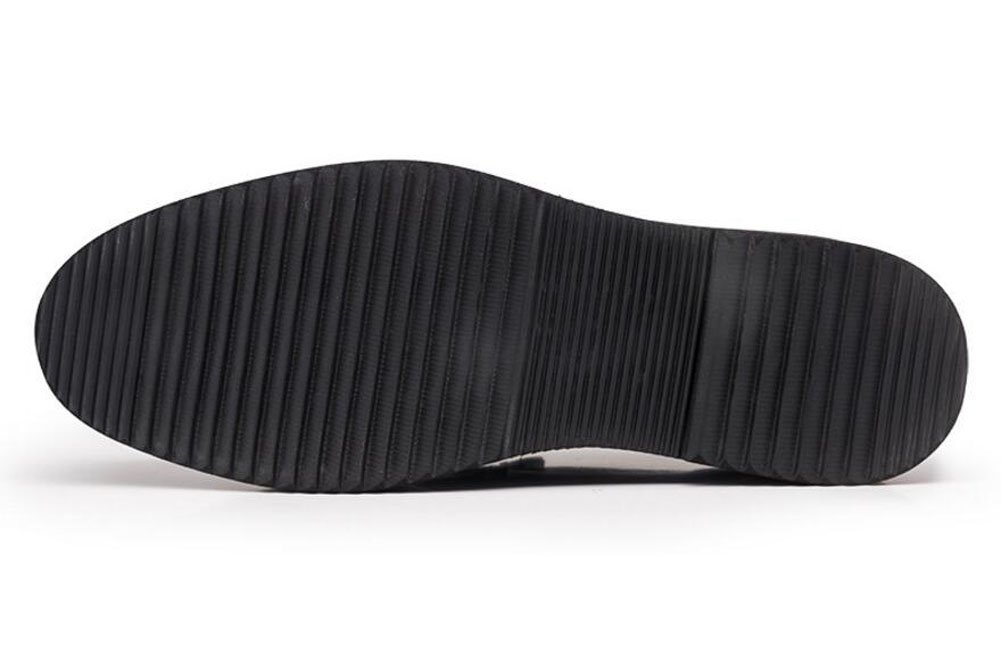 GLSHI Uomini Oxford New Business Suits Scarpe Scarpe Scarpe Spessore inferiore della testa testa di mucca di grandi piedi Scarpe Uomo ( Coloree   nero , Dimensione   44 ) B0744NX1K5 Parent | Trendy  | Nuovo Stile  | attività di esportazione in linea  | Modalità mode 6ec0b8