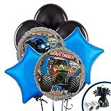 BirthdayExpress Monster Jam Party Supplies - Balloon Bouquet