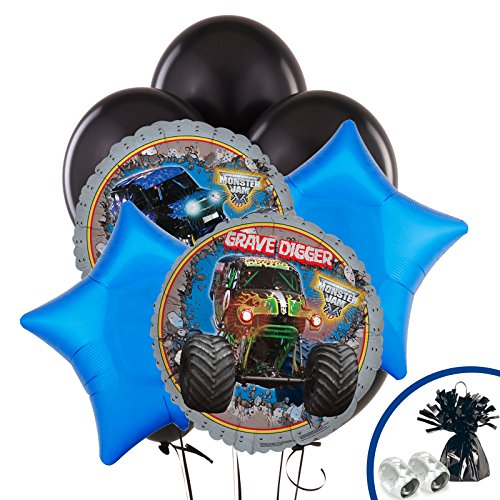 BirthdayExpress Monster Jam Party Supplies - Balloon
