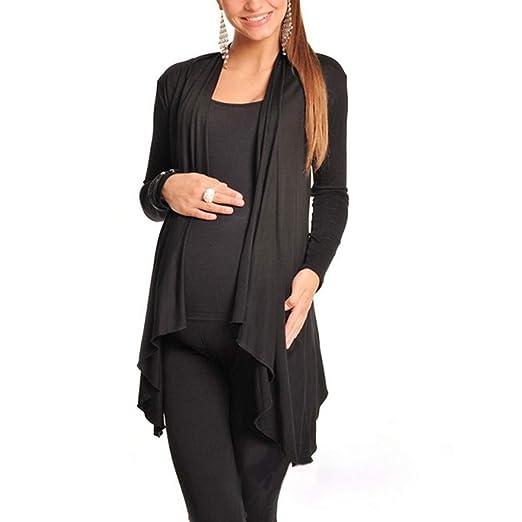 8c767a1bd916 Clearance Sale Maternity Shrug Jacket Tops Women's Long Sleeve Open Front  Cardigan Casual Coat Blouse Kimono
