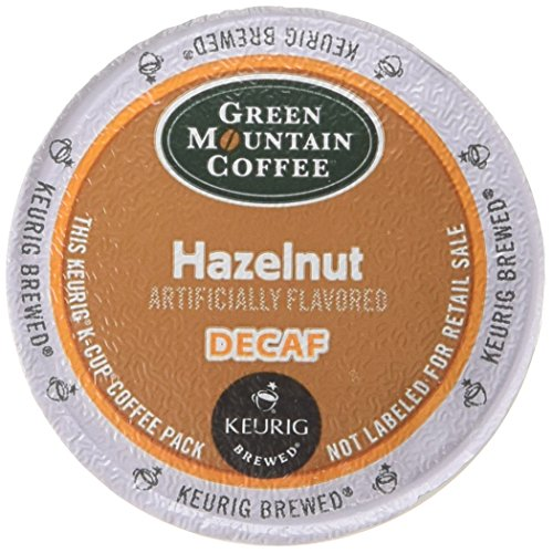 Green Mountain Coffee Decaf Hazelnut, 24-Count K-Cups for Keurig Brewers (Pack of - Village Outlet Green