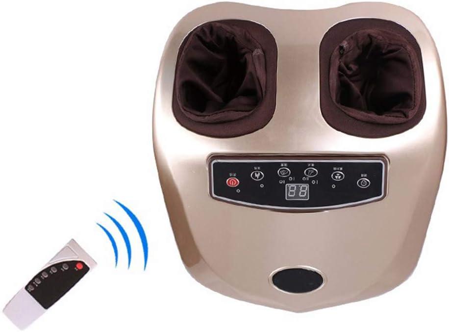 WGIRL Shiatsu masajeador de pies máquina amasar Masaje Profundo, la función de Calor, Revitive Medic, Fascitis Plantar, Compresión del Aire, con la función de aniones