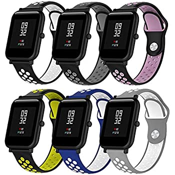 Amazon.com: Fucung Universal Replacement Silicon Watch Band ...