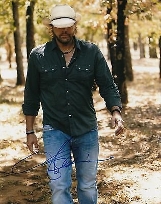 Toby Keith signed Red Solo Cup country music singer 8x10 photograph w/coa #TK1