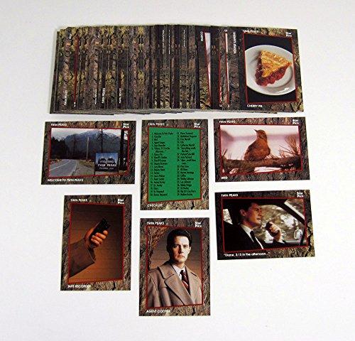 1991 Star Pics Twin Peaks Trading Card Set (1-76) by Star Pics