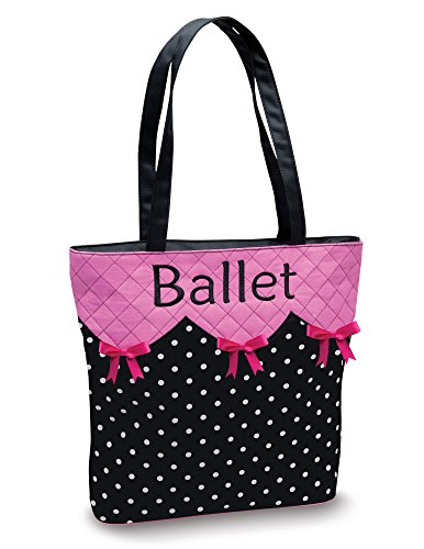 Ballet Embroidered Tote - 1