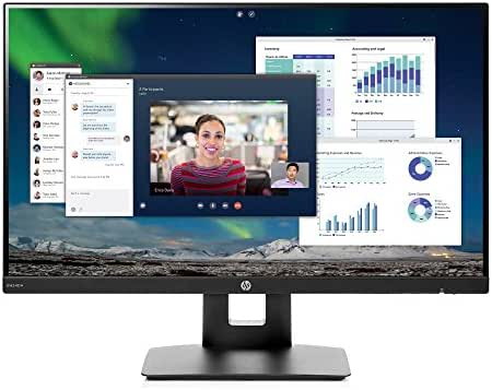 HP 23.8-inch FHD IPS Monitor with Tilt/Height Adjustment (VH240a, Black)