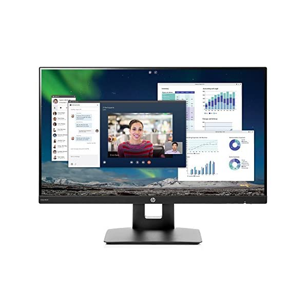 HP 23.8-inch FHD IPS Monitor with Tilt/Height Adjustment and Built-in Speakers 1