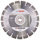 2608602656 BOSCH 300 X 22.3MM DIAMOND CUTTING DISC BEST CONCRETE