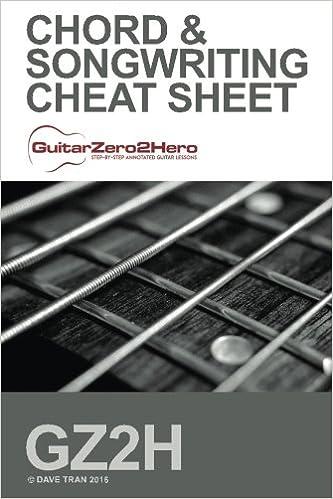 Buy Guitar Chord & Songwriting Cheat Sheet: Guitarzero2hero Book ...