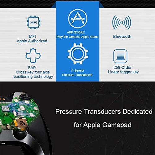 Smartephone Remote Gamepad, Megadream MFi iOS Gaming Wireless