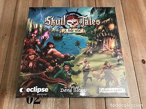 Eclipse Editorial- Skull Tales ¡a Toda Vela (Castellano) Juego De ...