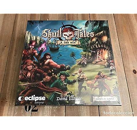 Eclipse Editorial- Skull Tales ¡a Toda Vela (Castellano) Juego De Mesa, Multicolor, Unica (BGSKULLTALES): Amazon.es: Juguetes y juegos