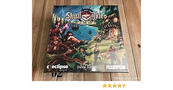 Eclipse Editorial- Skull Tales ¡a Toda Vela (Castellano) Juego De Mesa, Multicolor, Unica (BGSKULLTALES)
