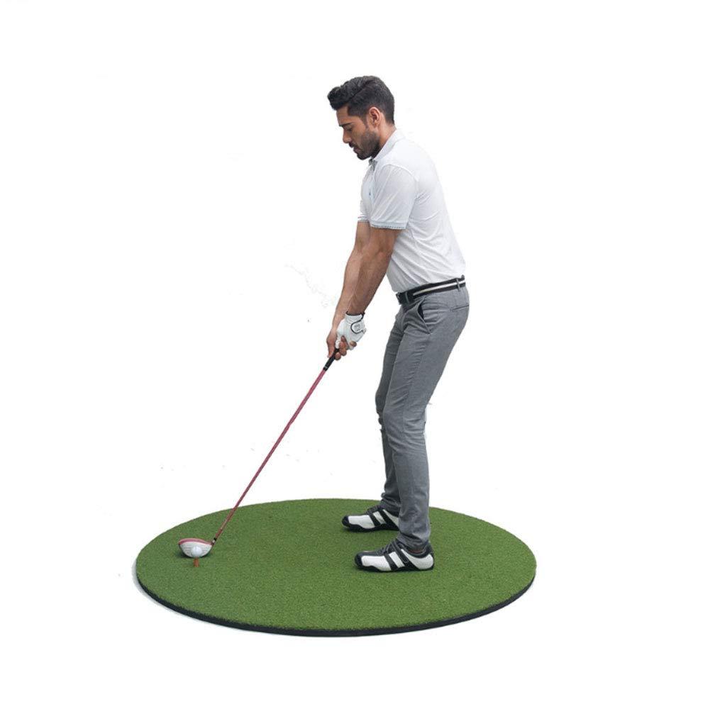 ゴルフスイングトレーナー - ラウンド - 屋内と屋外のシミュレーションマット - 初心者の練習ブランケット59