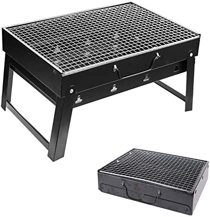 Zerone BBQ Grill pliable Portable en acier inoxydable