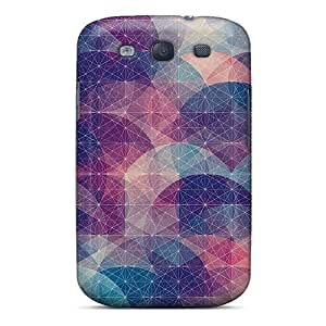 Strahan Fashion Protective Simple Dark Circle Geometric Case Cover For Galaxy S3