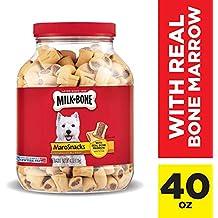 Milk-Bone Marosnacks Dog Treats For All Sizes Dogs, 40-Ounce, Red, 40 Oz. Jar