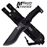 MTECH USA XTREME MX-8119 Fixed Blade Tactical Knife, 11.5″ Overall