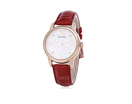 HYY@ R2051 Women Quartz Watch - RED