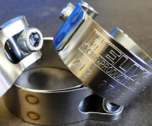 Helix Racing Products 212-2769 Stainless Exhaust Clamp - 2.31-2.49in.