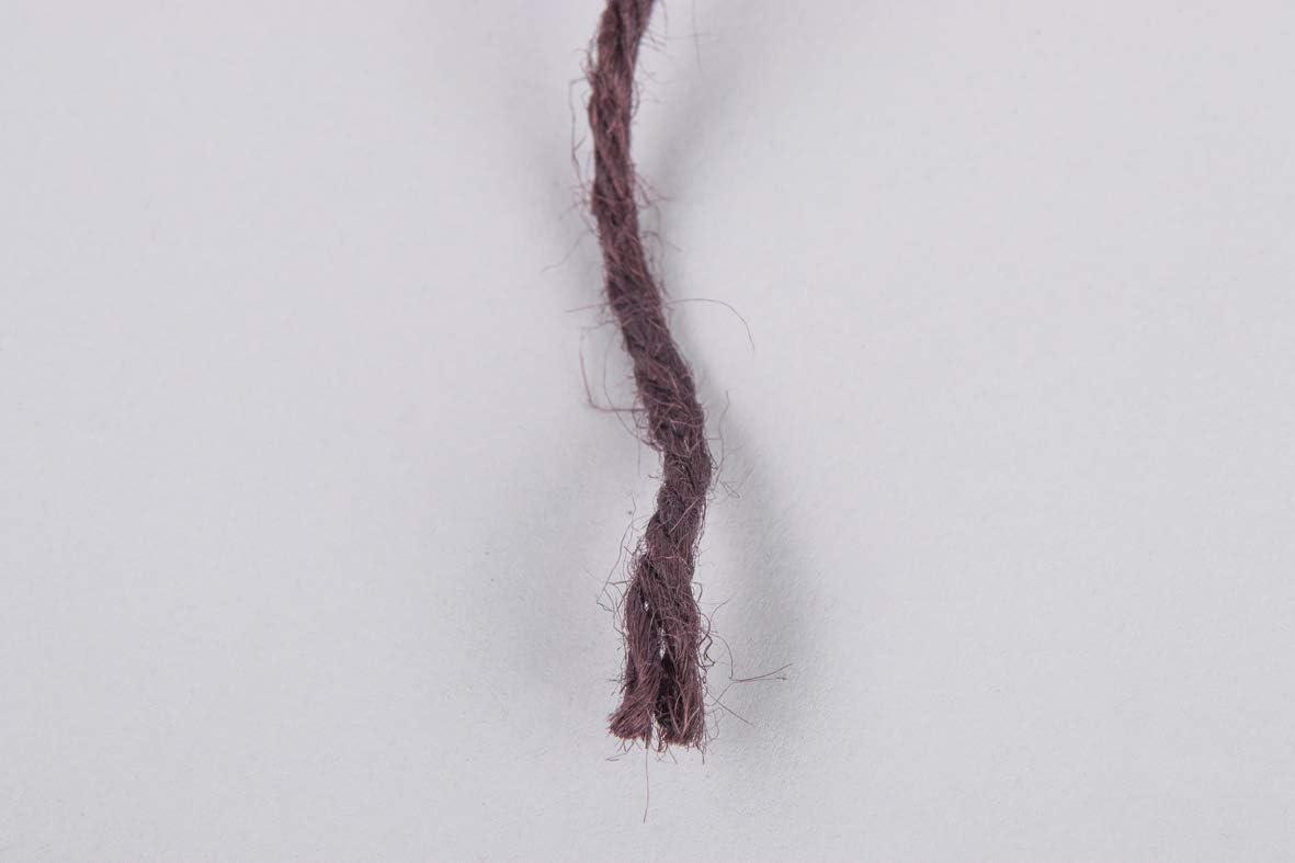 Rayher 4200305 Fil de jute 4 plis brun fonc/é 3,5mm /ø bobine 280m