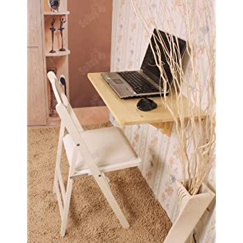 This Item SoBuy Wall Mounted Drop Leaf Table, Folding Kitchen U0026 Dining Table  Desk, Children Table,60cm(23.6in)X40cm(15.7in),natural,FWT03 N,