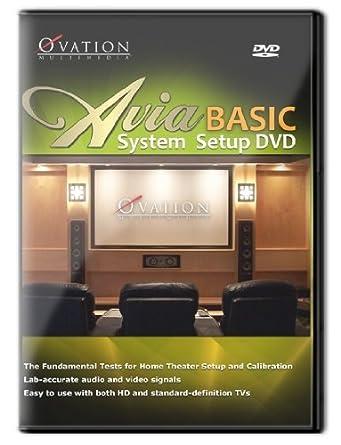 amazon com avia basic home theater and hdtv system setup disc dvd rh amazon com Home Theater Drawings Movie Theater Manual