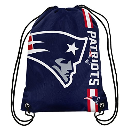 NFL New England Patriots Big Logo Drawstring Backpack