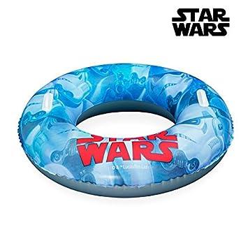 Euroweb Rueda flotador hinchable con asas Saga Star Wars - Boué ...