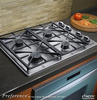 Nice Dacor Preference Series 30 Inch Stainless Steel Gas Cooktop   RGC304SNG