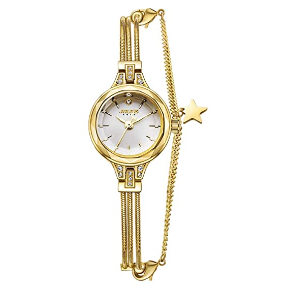 Reloj para Mujer Núcleo De Cuarzo Esfera Pequeña Y Redonda ...