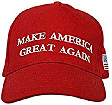 US President Election Make America Great Again Knit Red Hat MAGA Beanie Warm Cap