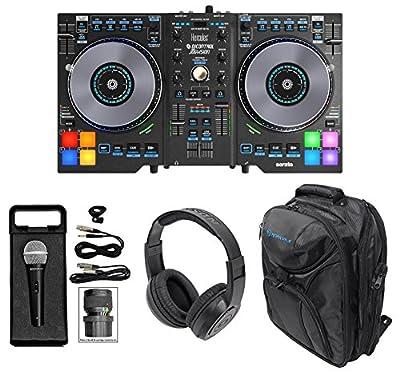 Hercules DJControl JogVision USB Serato DJ Controller+Headphones+Mic+Backpack from Hercules