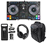 Best DJ Controllers With Serato Intros - Hercules DJControl JogVision USB Serato DJ Controller+Headphones+Mic+Backpack Review