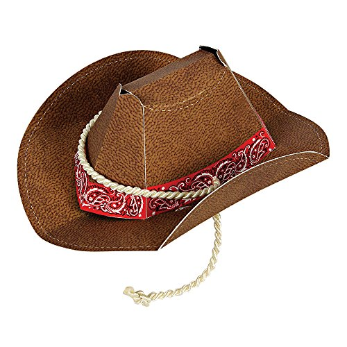 Meri Meri, Party Hat, Howdy Cowboy, Birthday Themed - 8 Box]()