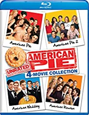 American Pie: Unrated 4-Movie Collection (American Pie / American Pie 2 / American Wedding / American Reunion)