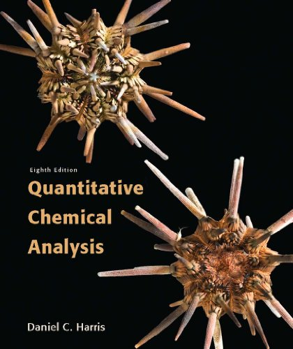 Quantitative Chemical Analysis Pdf