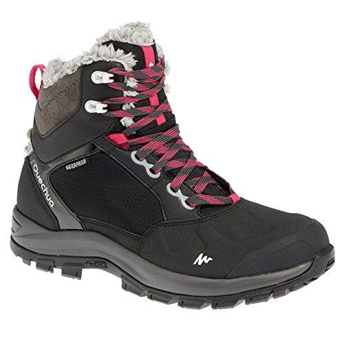 Waterproof Snow Hiking Boots - Black