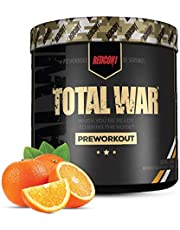 Redcon1 Total War - Pre Workout, 30 Servings, Boost Energy, Increase Endurance and Focus, Beta-Alanine, 350mg Caffeine, Citrulline Malate, Nitric Oxide Booster - Keto Friendly