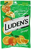 Ludens Throat Drops, Orange, 25 Count
