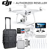DJI Phantom 4 PRO+ PLUS V2.0/Version 2.0 Quadcopter Waterproof Rolling Case Ultimate Bundle