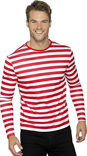 Smiffy's 46830m Stripy T-shirt (medium)