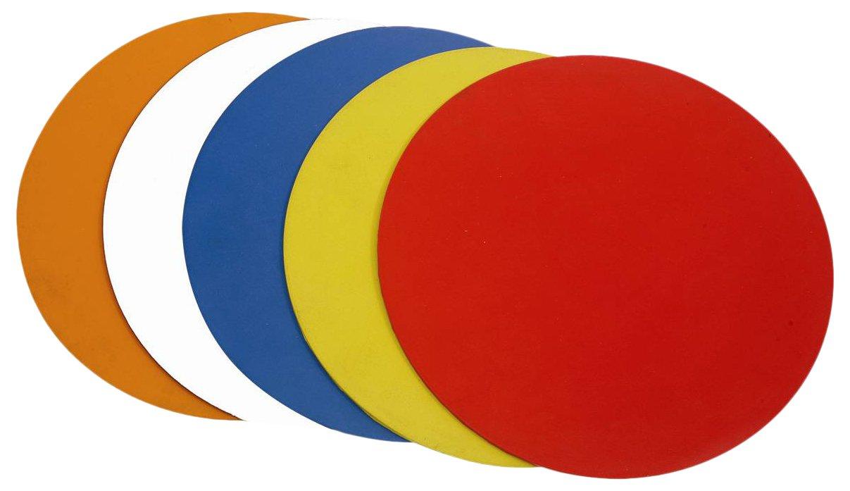 Cartasport Unisex 22,86cm Agilidad Puntos Set (10x Colores)