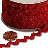Paper Mart Red RIC Rac Trim - 5 mm x 25 yd