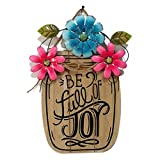 Easter Decorations Wood Hanging Board Spring Garden Decor (A)