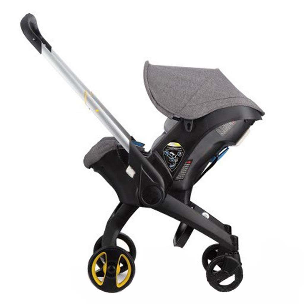 DGDG Baby Hand Push Chair, Three-in-One Safety Seat Multi-Function Cart Folding Type Car Baby Basket Stroller Chair