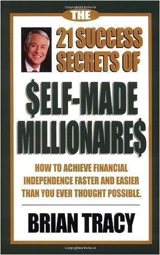 Ebook portugues downloads The 21 Success Secrets of Self-Made Millionaires [Hardcover] [2001] (Author) Brian Tracy B00E7V8898 RTF